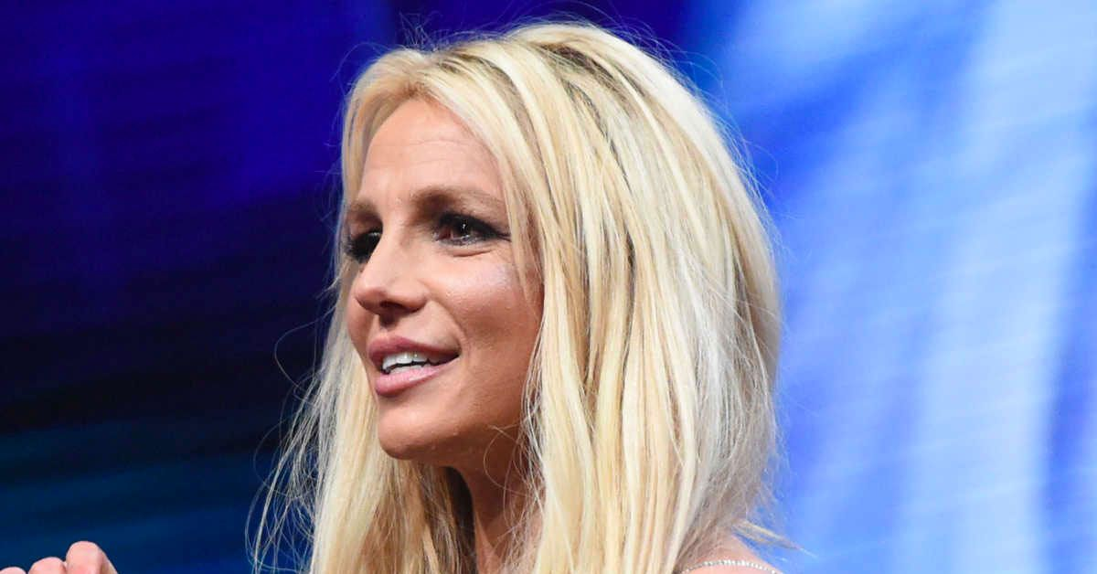 This Photo With A Concealed Face Is Clearly Not Britney Spears