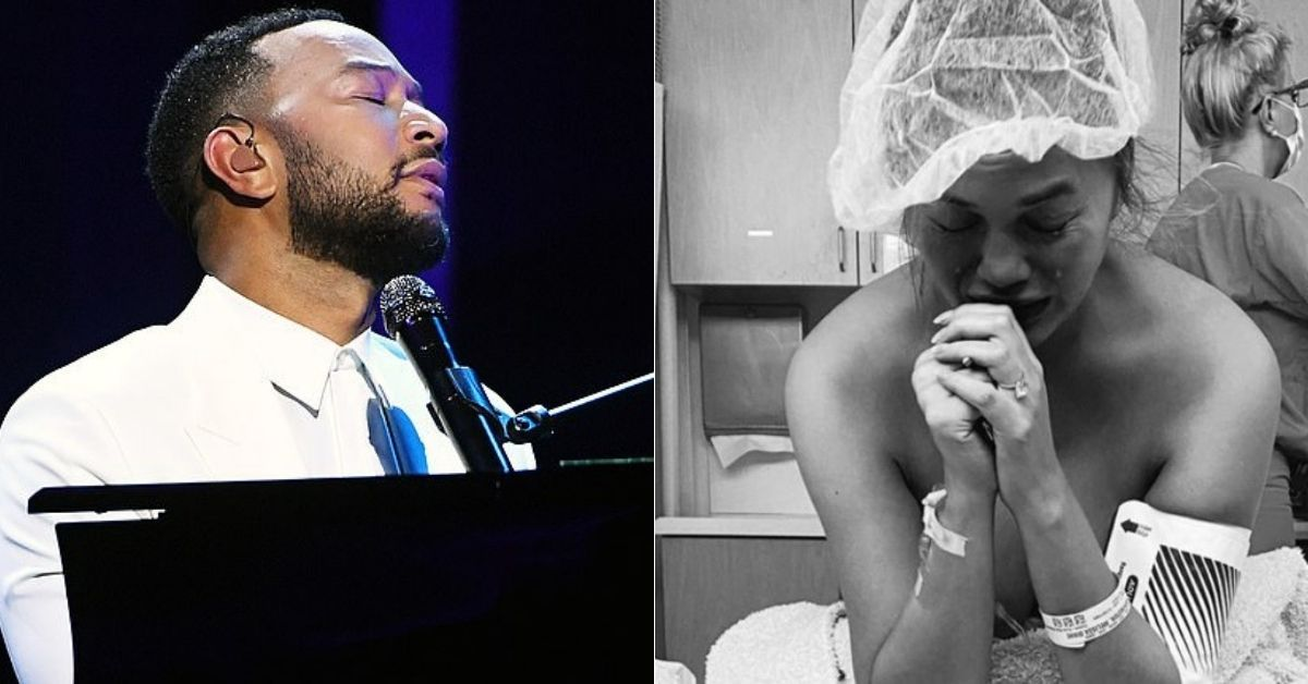 John Legend Fans In Tears After He Dedicates Song To Wife Chrissy Teigen After Her Miscarriage