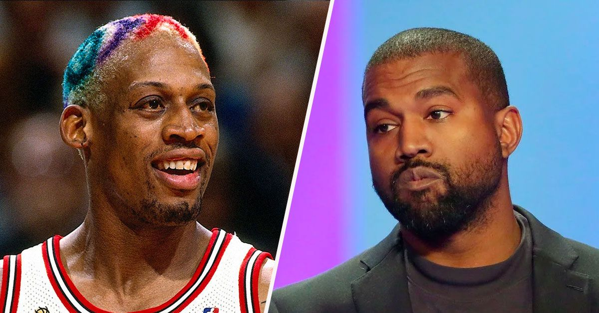 Dennis Rodman Is Campaigning For Kanye West & Fans Are Confused