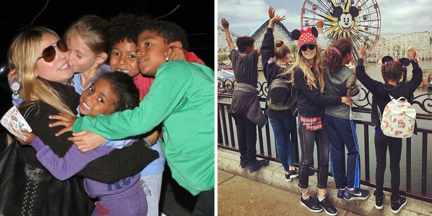 Here's Everything We Know About Heidi Klum's Four Kids