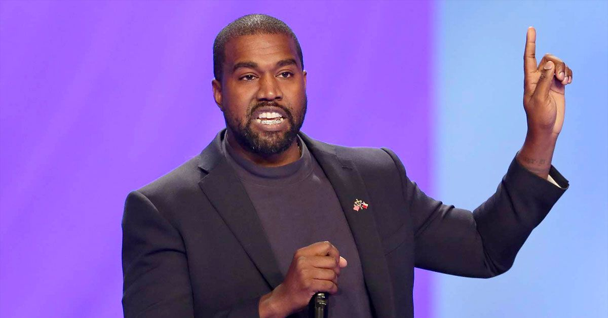Kanye West Is Still Posting About Being President... And He Keeps Making Typos