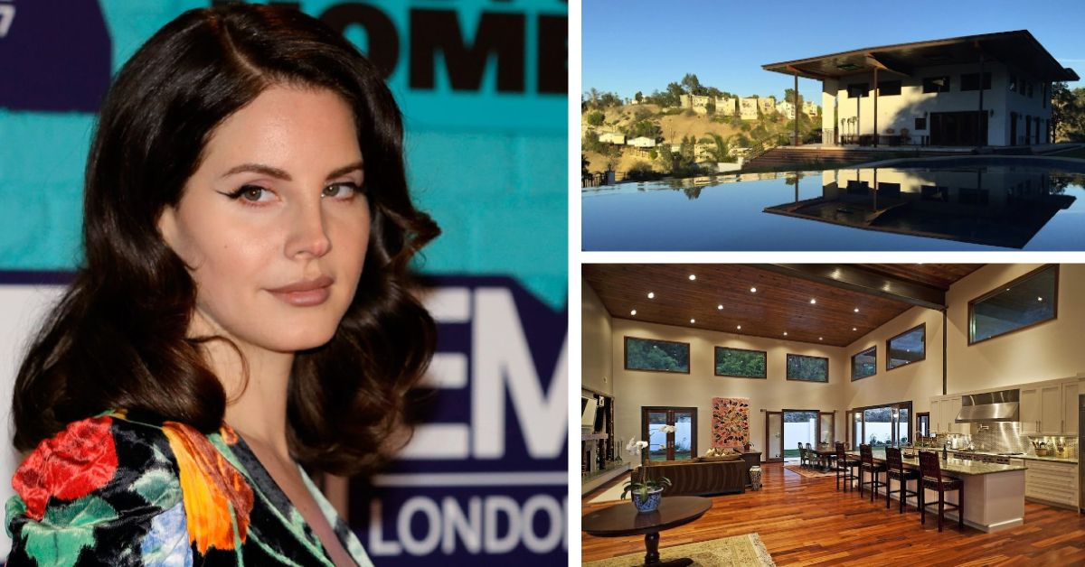An Inside Look At Lana Del Rey's Hollywood Mansion | TheThings