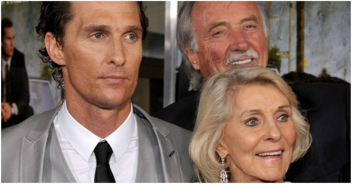 Matthew McConaughey's Parents Were Married To Each Other Three Times