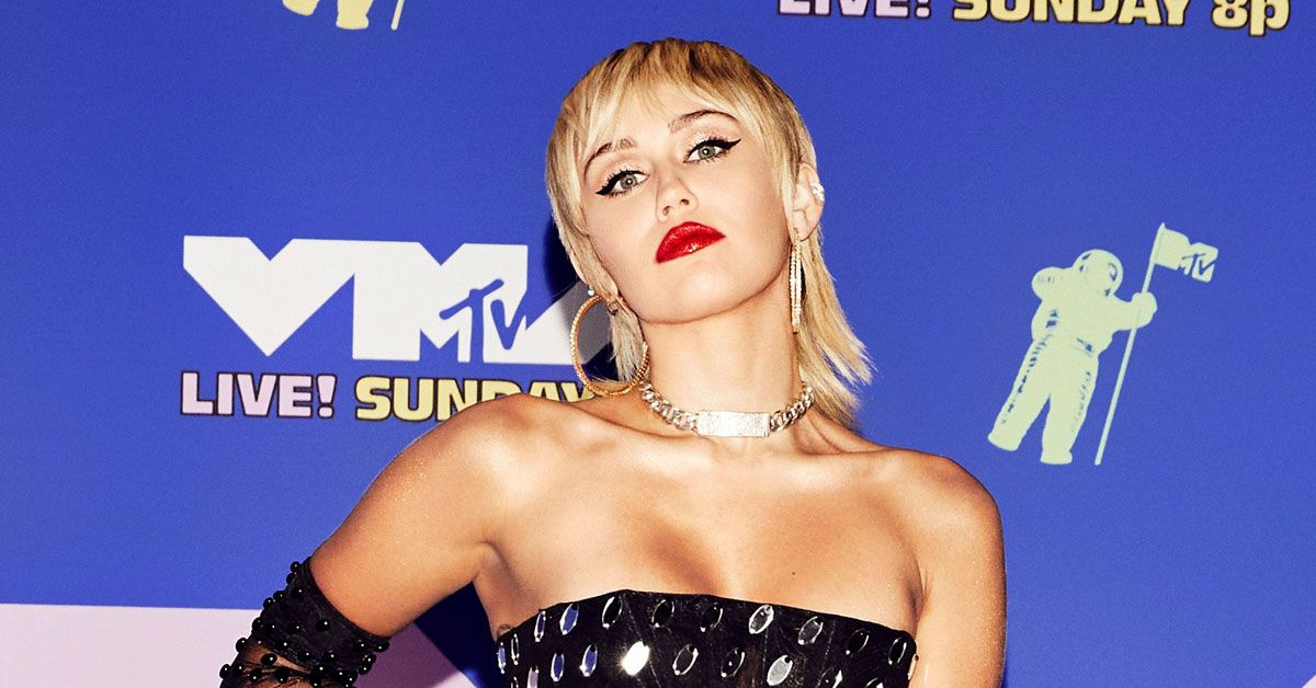 Fans Go Nuts Over Miley Cyrus' 'Golden G String' - cover