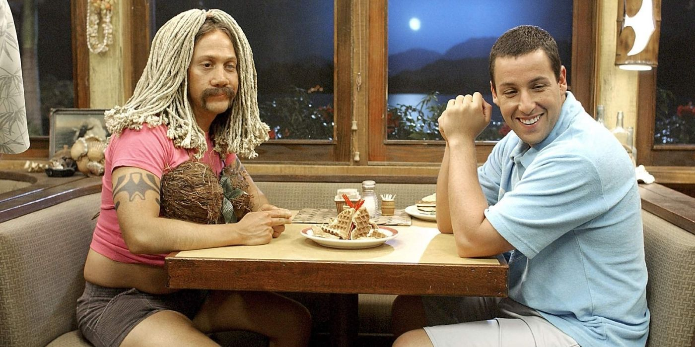 The Theory About Why Adam Sandler And Rob Schneider Appear In So Many Films Together