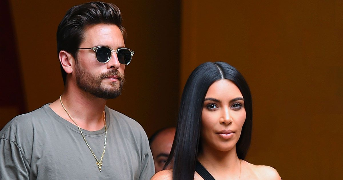 Kim Kardashian And Scott Disick's Swimsuit Photo Is A Total Belly Flop