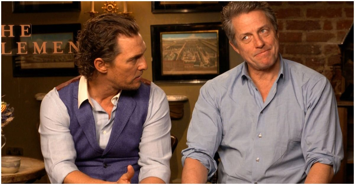 Hugh Grant And Matthew McConaughey Were Going To Set Their Parents Up On Blind Date. Here's The Story