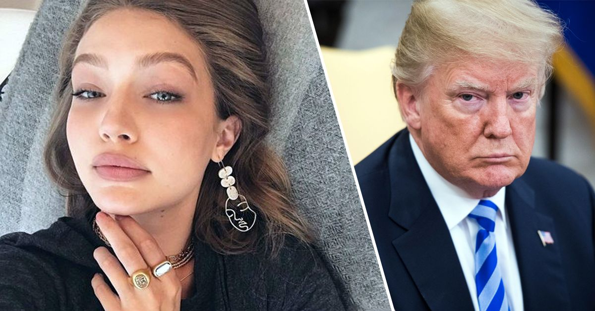 Gigi Hadid Reminds Everyone Her Dad Once Also Beat Trump