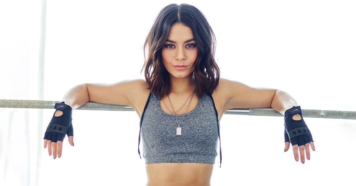 Watch Vanessa Hudgens Prove Exactly Why Long Nails And Workouts Don't Mix