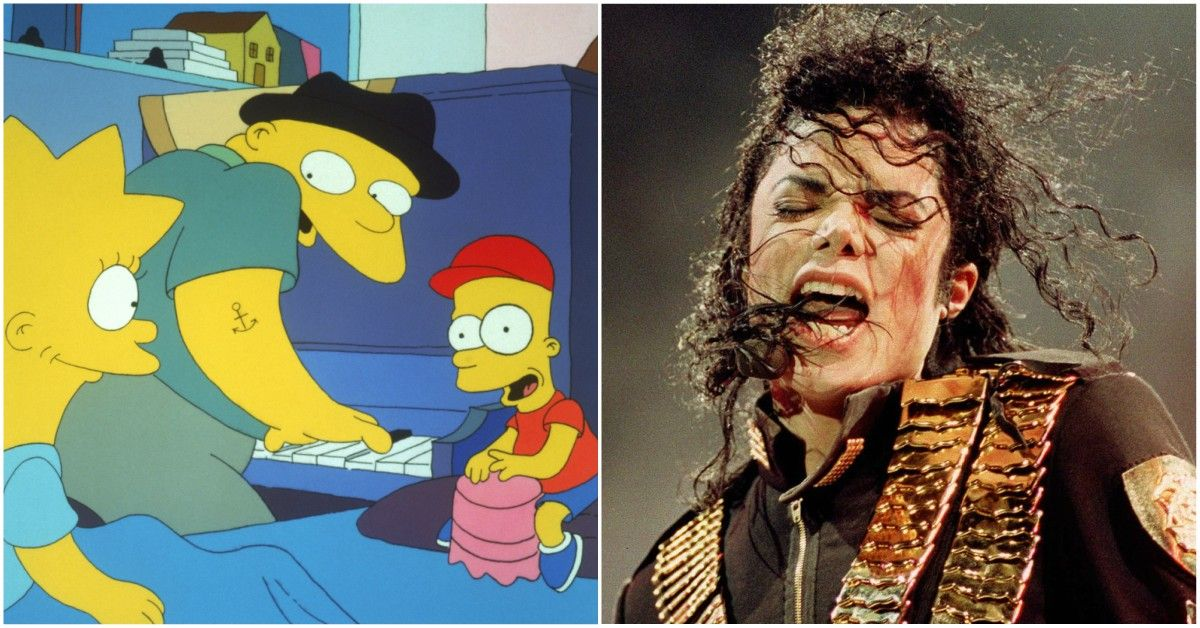 The Truth About The Michael Jackson Episode Of 'The Simpsons'