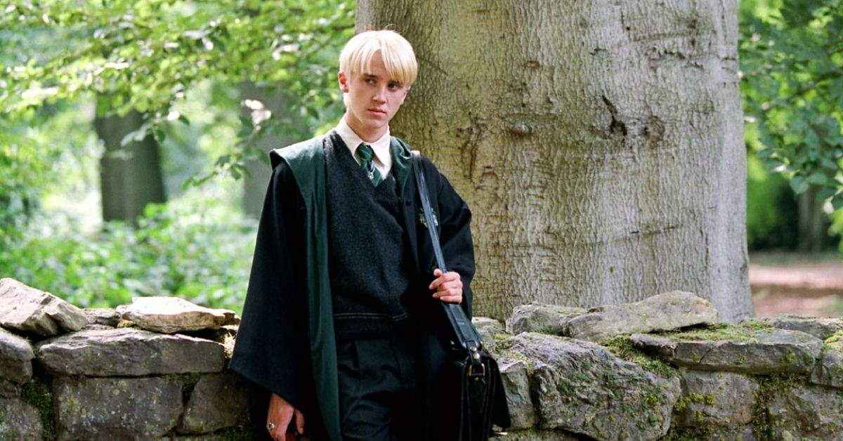 Harry Potter's Tom Felton Shares An Interesting Detail About House Slytherin