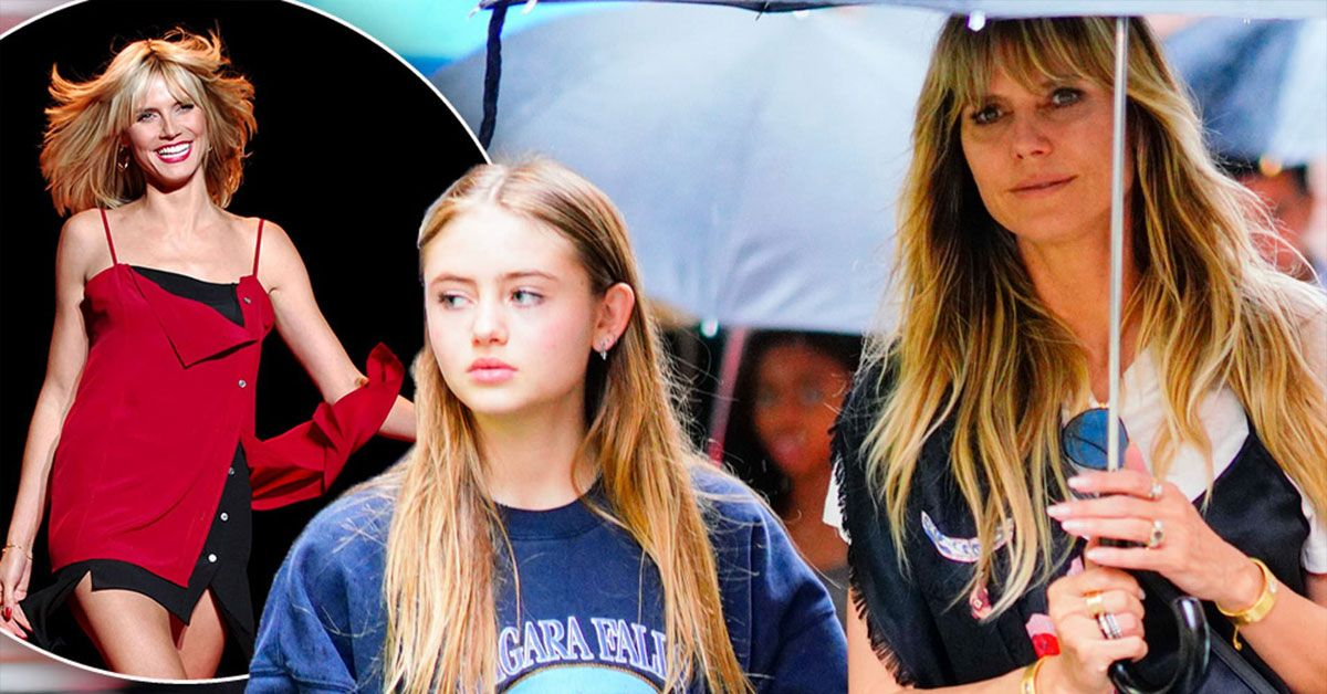 Here's A Sneak Peek Of Heidi Klum's Daughter On Her First Modeling Gig