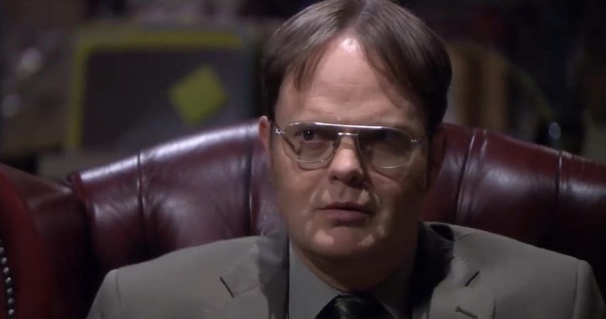An Unreleased 'The Office' Clip Of Dwight Doing 'The Matrix' Has Surfaced, And Fans Are Losing It