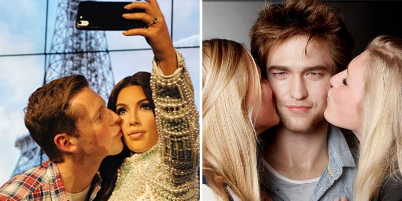 Fans Can't Stop Kissing This One Madame Tussauds Wax Figure