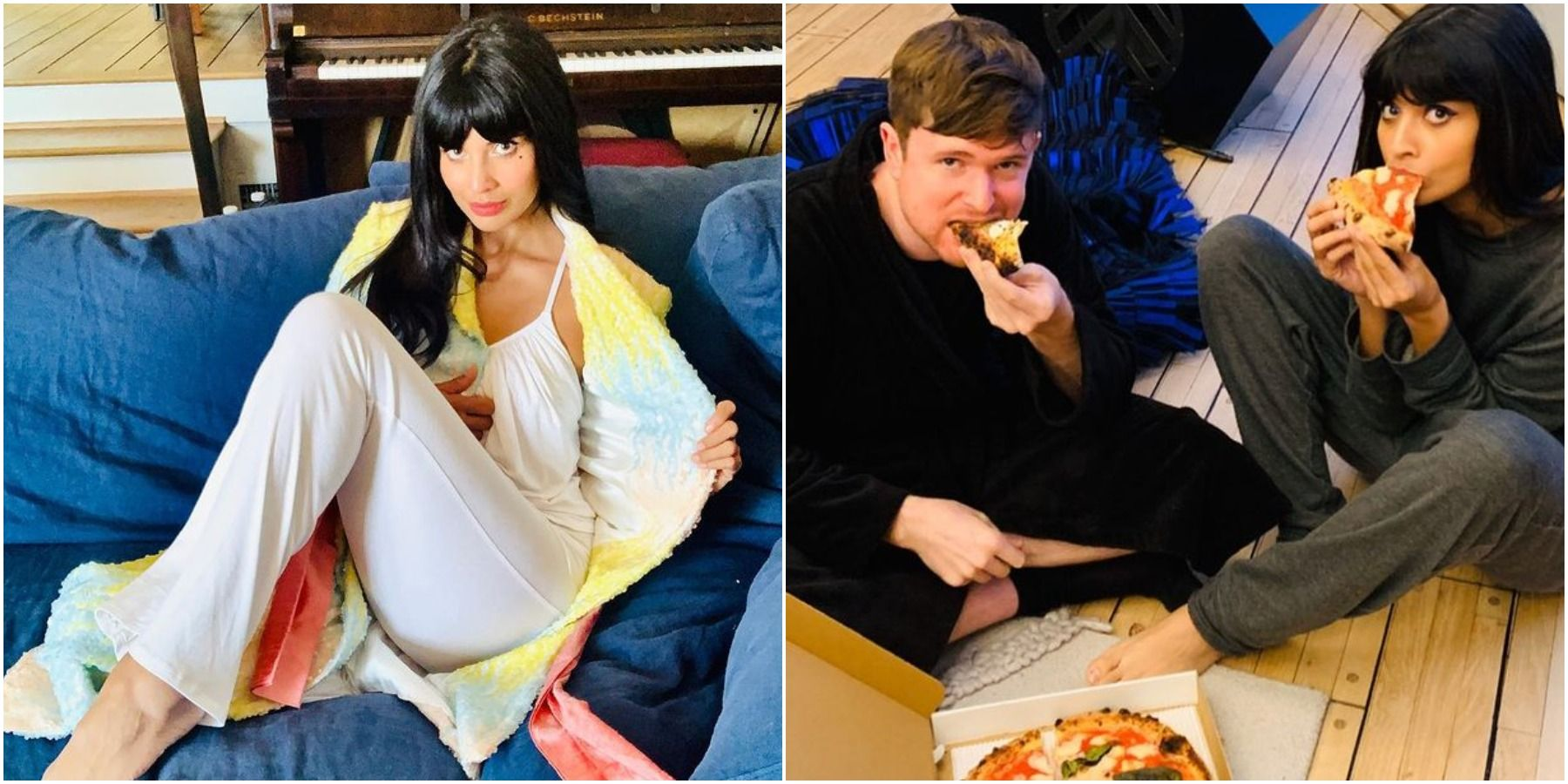 Here's What Jameela Jamil Has Been Up To During Quarantine