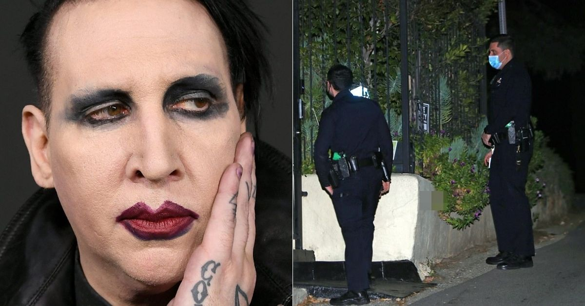 Marilyn Manson Fans Angry Over 'Trial By Media' As Cops Do Welfare Check