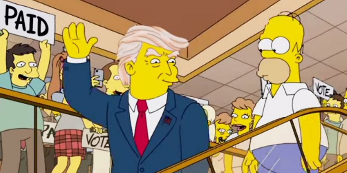 The Truth Behind 'The Simpsons' Predicting Donald Trump's Presidency