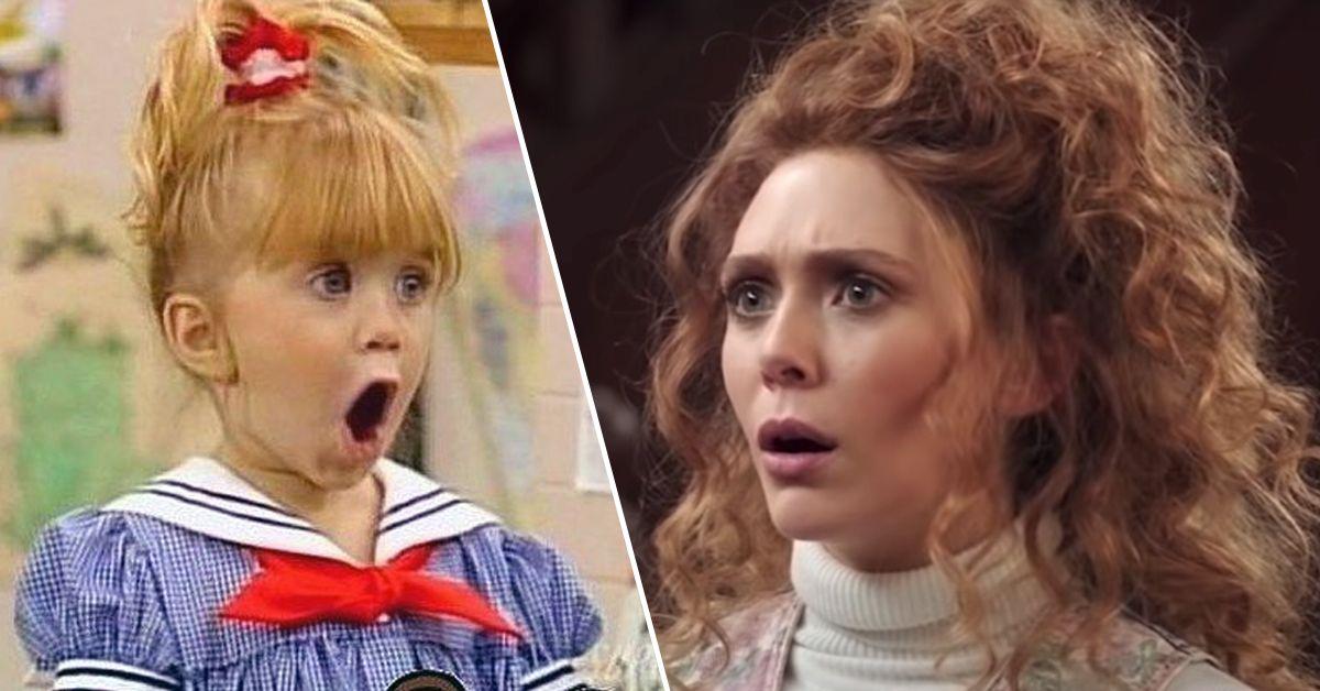 Elizabeth Olsen Gives Major 'Full House' Vibes In New 'Wandavision' Episode