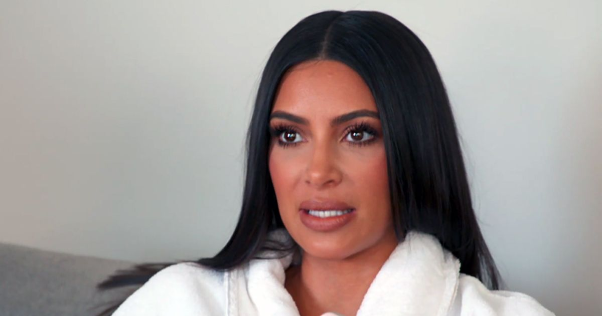 Kim Kardashian Struggles To Remember How To Drive Her Own Car