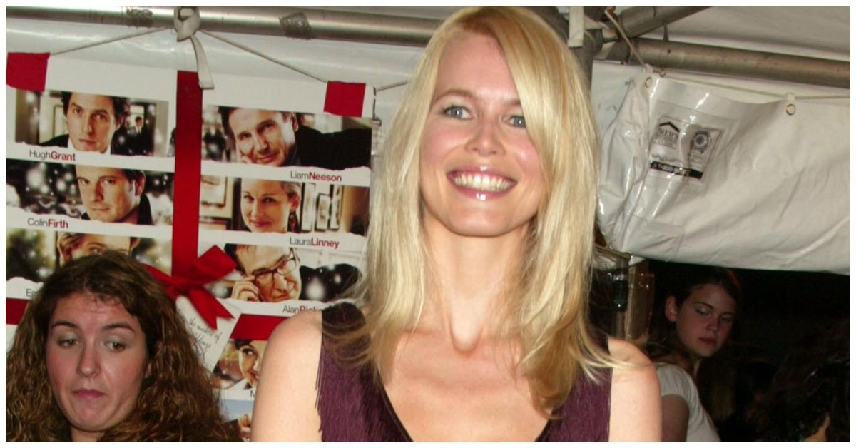 The Real Reason Claudia Schiffer Appeared In Love Actually