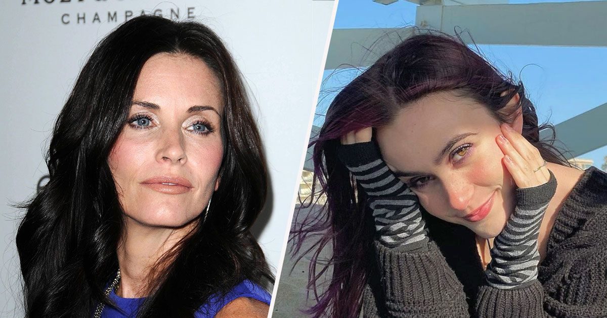 Courteney Cox Hits Back At Critics Trolling Her Daughter For Wearing Too Much Makeup