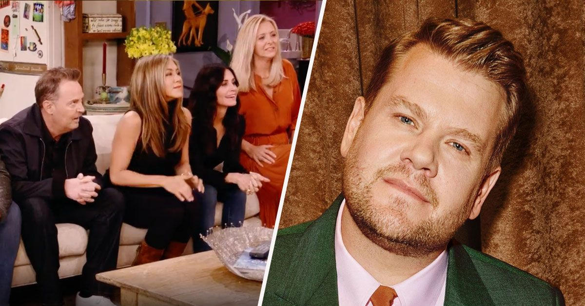 Twitter Wants James Corden Removed From The 'Friends' Reunion
