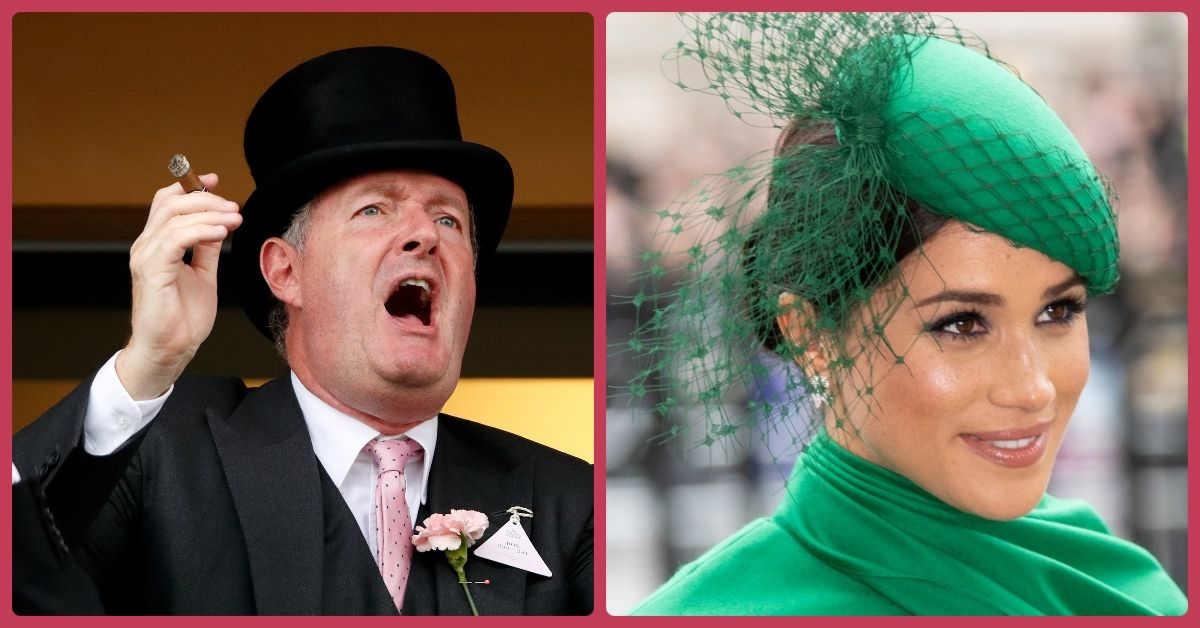 Twitter Reacts to Piers Morgan Criticizing Megan Markle And Other Celebrity Mental Health Campaigners