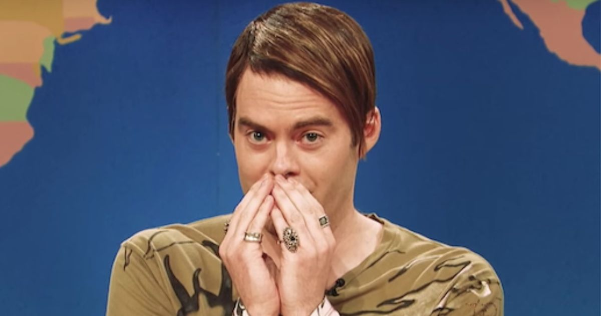 Bill Hader Was Not A Fan Of This Celebrity Musical Guest On 'SNL'