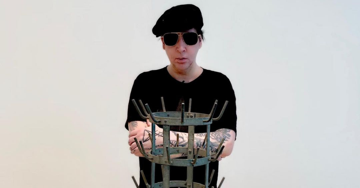 Here's Why Marilyn Manson Rarely Goes Out In Public Without Makeup