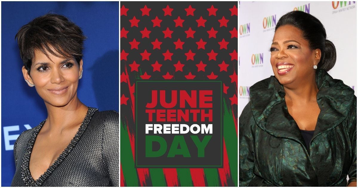 Halle Berry, Oprah Winfrey, And More Celebrities Celebrate Juneteenth On Social Media