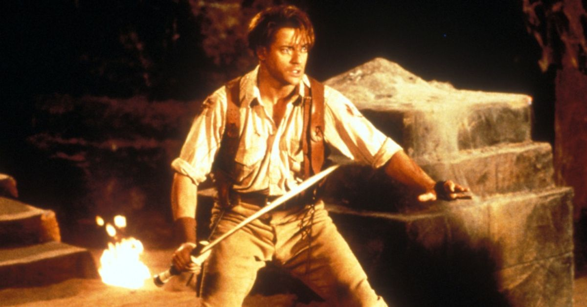 Here's How Brendan Fraser Almost Died On The Set Of 'The Mummy'