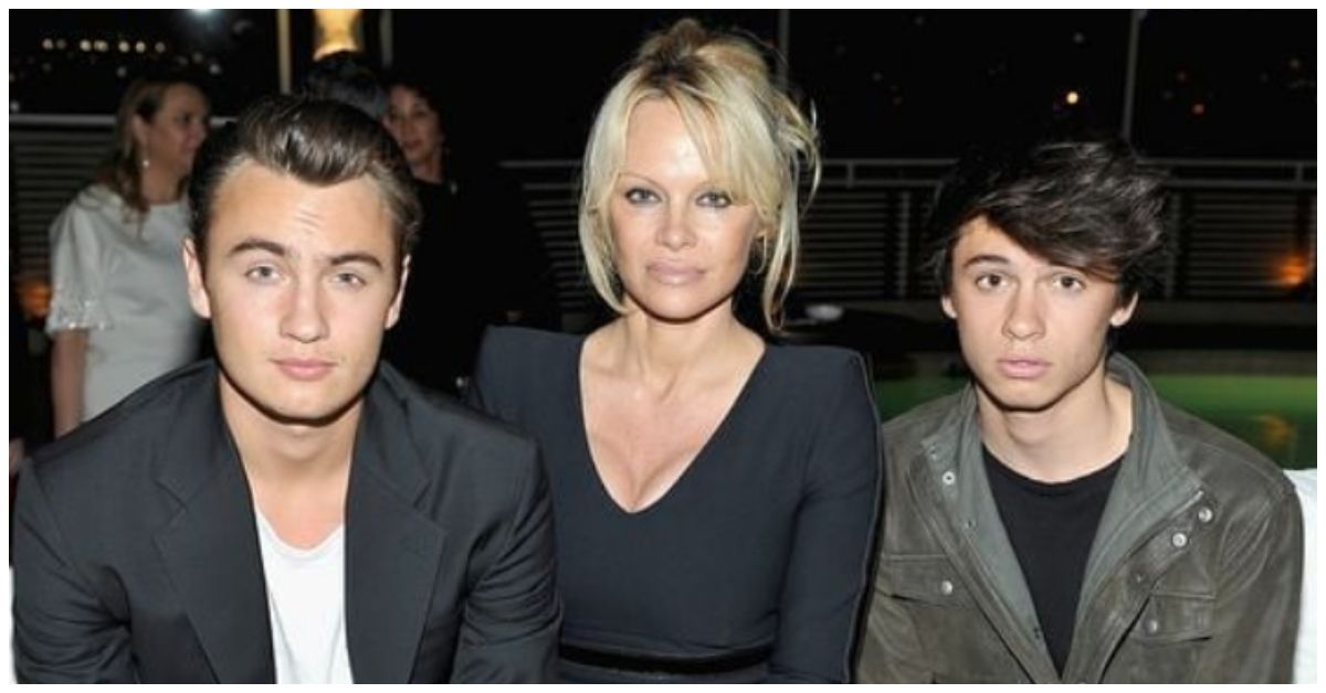 Why Pamela Anderson Is Sad About Her Sons
