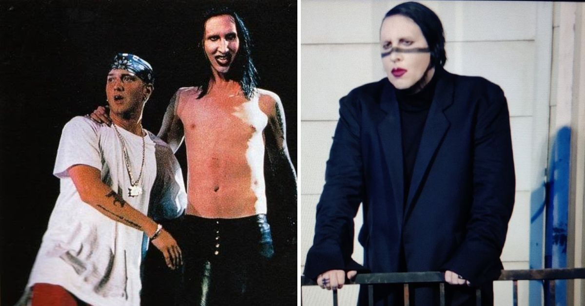 Kanye West's 'Donda' Listening Party: Was Marilyn Manson's Appearance Copied From This Eminem Concert?