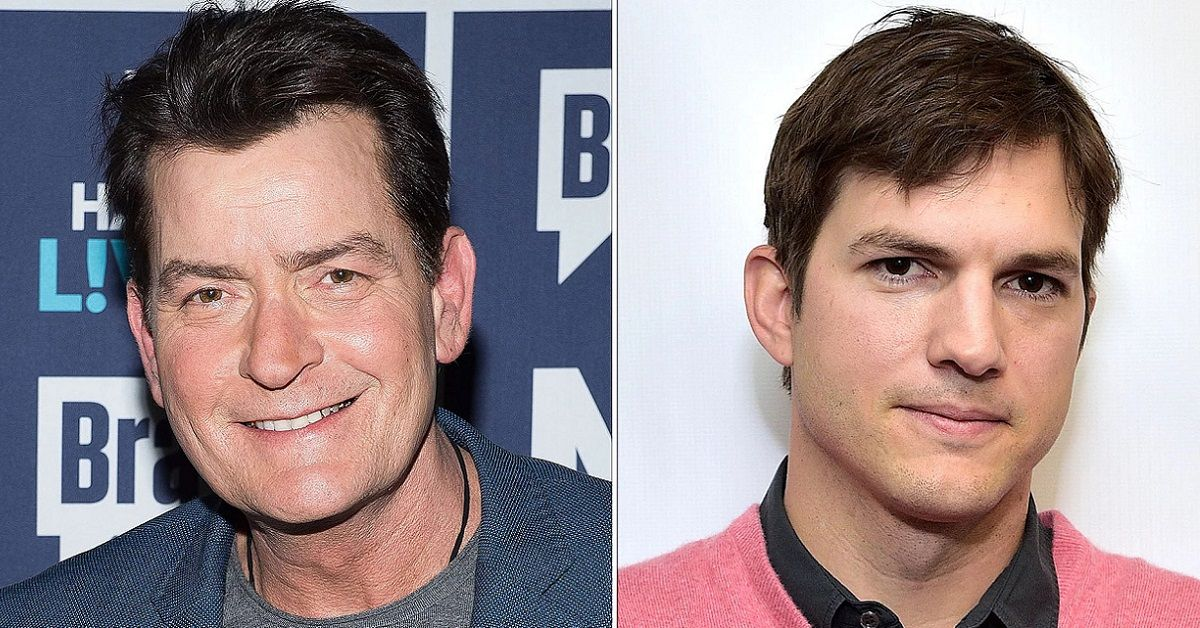 Which Two And A Half Men Star Has The Higher Net Worth: Charlie Sheen Or Ashton Kutcher?