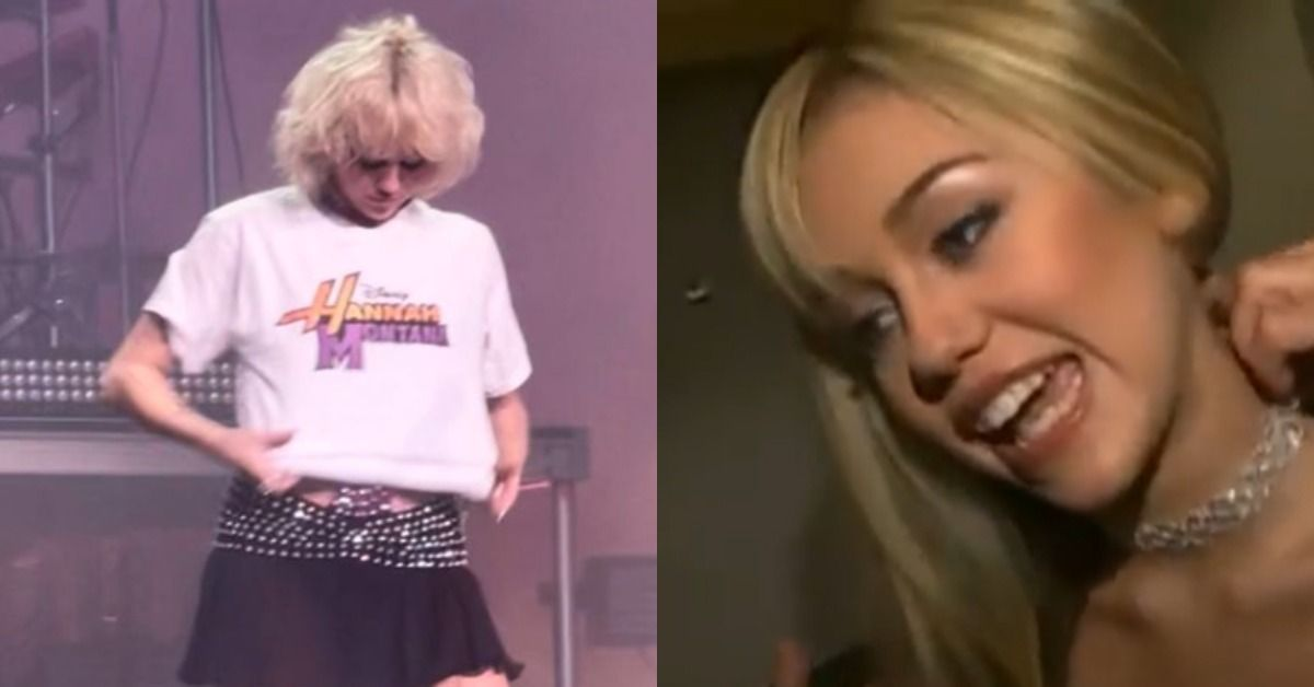 Miley Cyrus's Hannah Montana Shirt Continues To Blow Up Social Media