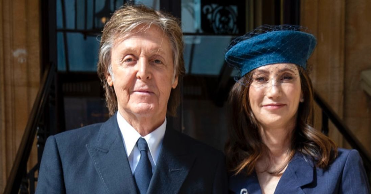 The Story Of How Barbara Walters Introduced Paul McCartney To His Wife Nancy Shevell