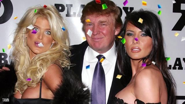 Photos Of Donald Trump Caught In Compromising Situations
